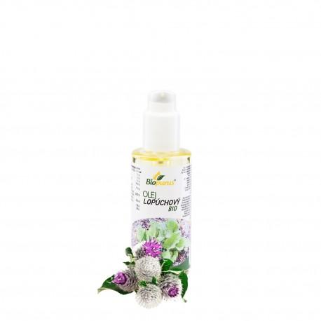 Lopúchový olej 100 ml + pumpa Biopurus