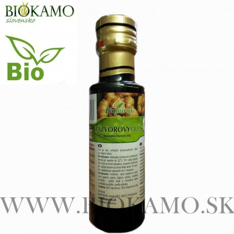 Zázvorový olej 100 ml Biopurus