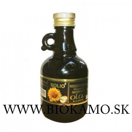 Slnečnicový olej s cesnakom 250 ml Solio