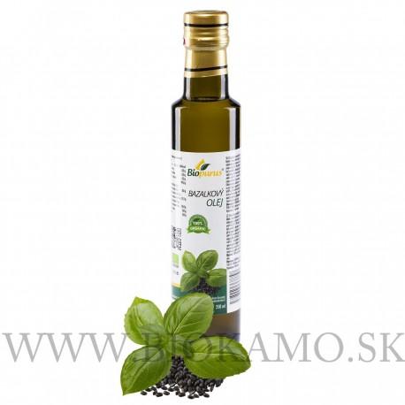 Bazalkový olej 250 ml BIO Biopurus