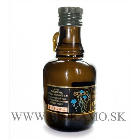 Ľanový olej 250 ml Solio