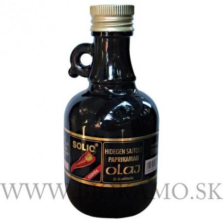 Paprikový olej pálivý 250 ml Solio