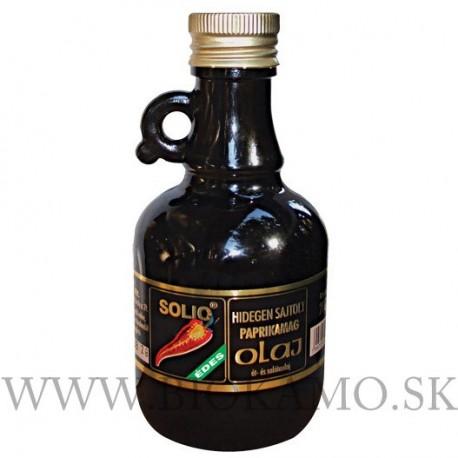 Paprikových semien sladký olej 250 ml Solio