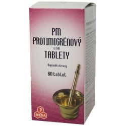 PM Protimigrénový elixír 60tbl