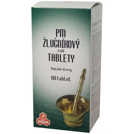 PM Žlčnikový elixír 60tbl