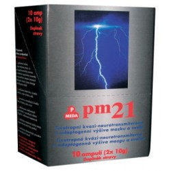 PM 21-pitné ampule 10x20g