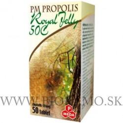 PM Propolis 50 C + Royal Jelly tbl.50x500mg