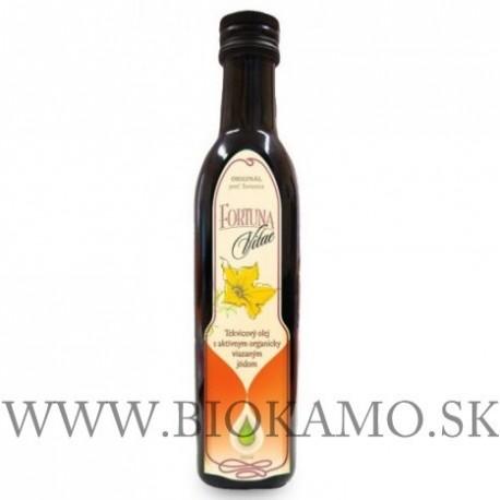 FORTUNA VITAE-Tekvicový olej s aktívnym organicky viazaným jódom 250ml
