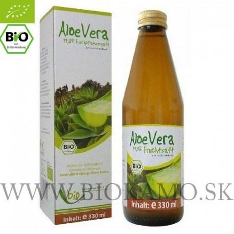 Aloe Vera 330 ml BIO 100 % Medicura