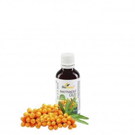 Rakytníkový olej 100 % BIO 50 ml Biopurus