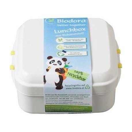 BIODORA - Box z ekologického PLA plastu s klipom 0,4 l