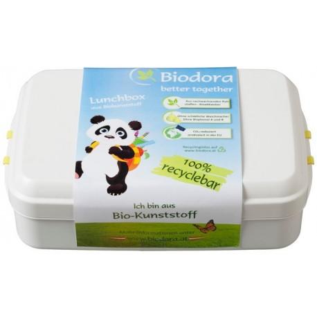 BIODORA - Box z ekologického PLA plastu s klipom 0,8 l