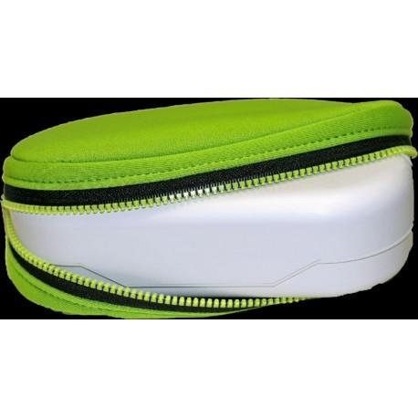 BIODORA - Desiatový box z ekoplastu v neopréne, zelený