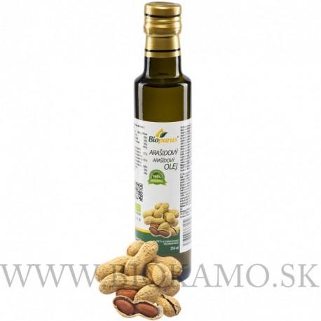 Arašídový olej 100 ml Biopurus