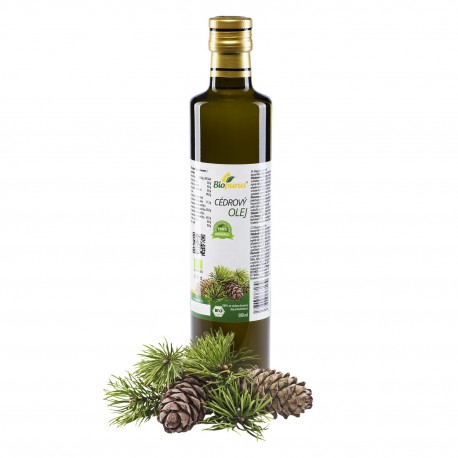 Cedrový olej 500 ml BIO Biopurus