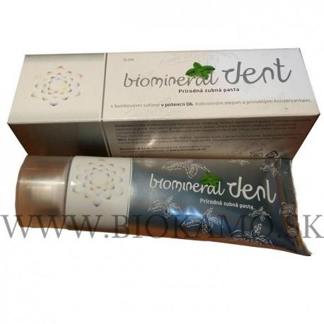 Prírodná zubná pasta - Biomineral Dent 75ml s kokosovým olejom