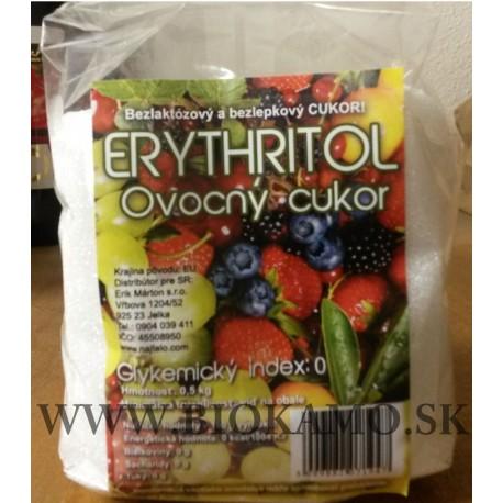 Ovocný cukor - Erythritol 500 g