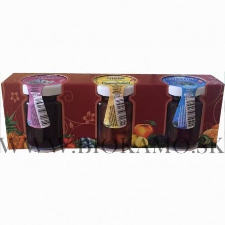 Mix pečené ovocné čaje 3ks 55ml
