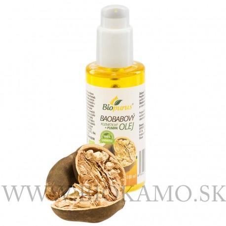 Baobabový olej 100ml BIO kozmetický s pumpičkou