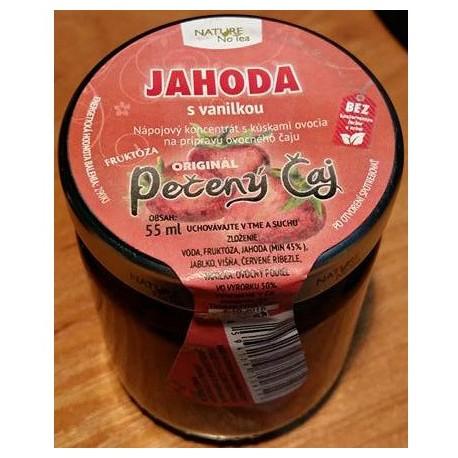 Jahoda s vanilkou 55ml