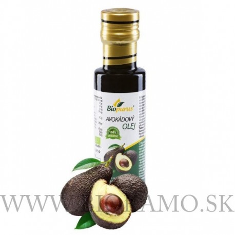 Avokádový olej 250ml BIO Biopurus