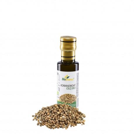 Koriandrový olej 100ml BIO 100% Biopurus
