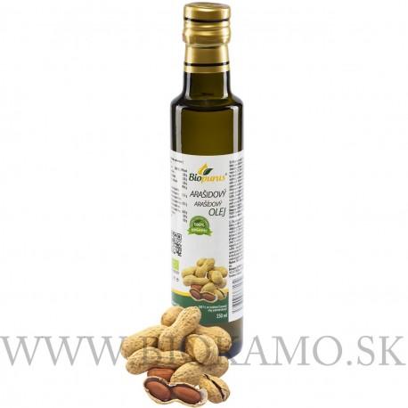 Arašidový olej 250 ml Biopurus