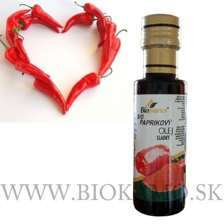 Paprikový olej sladký 100ml Biopurus