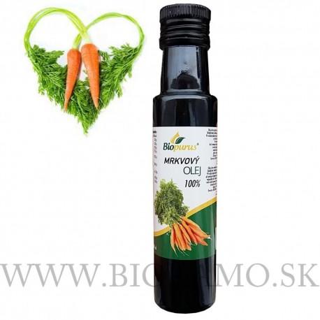Mrkvový olej 100ml -100% Jednodruhový