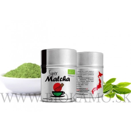 Matcha čaj BIO 40g Diet Food