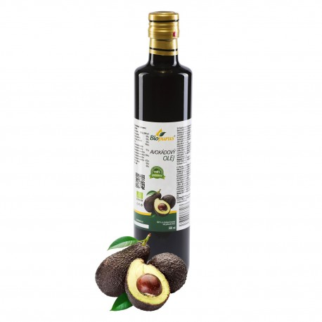 Avokádový olej 500 ml BIO Biopurus