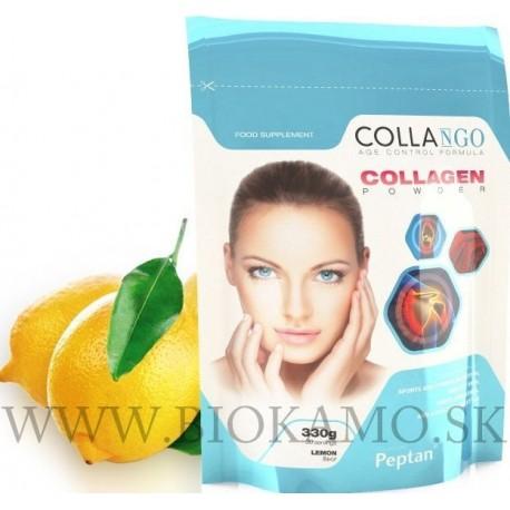 COLLAGEN - hydrolyzovaný kolagén Peptan 330g s príchuťou citron