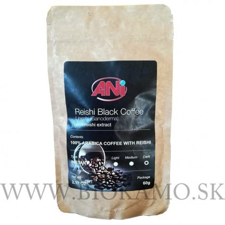 ANI Reishi Black Coffee with Reishi extract 60g