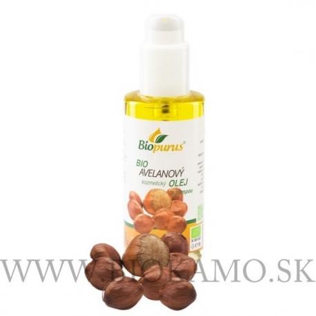 Avelánový olej 100 ml BIO + pumpa Biopurus