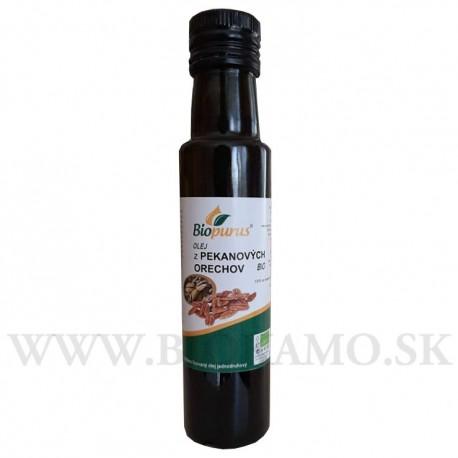 Olej z pekanových orechov BIO 100ml Biopurus