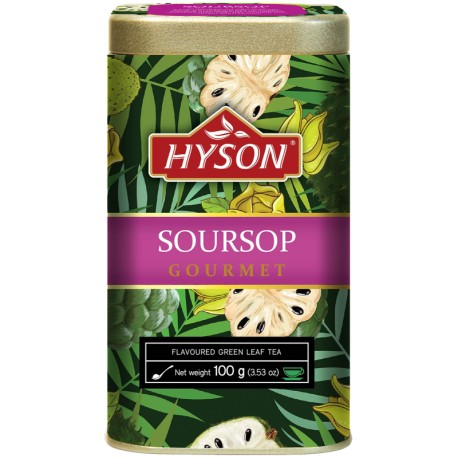 HYSON SOURSOP Gourmet-zelený čaj 100 g