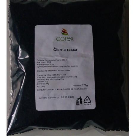 Čierna rasca - celý plod 250 g
