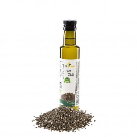 Chia olej BIO 100 ml Biopurus