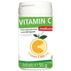 Vitamín C 800mg Medicura