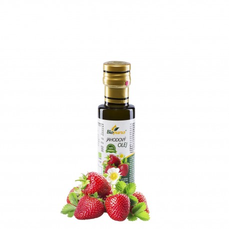 Jahodový olej BIO 250 ml Biopurus